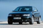 Car specs and fuel consumption for Audi S3 (8L)