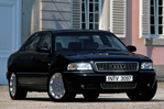 Car specs and fuel consumption for Audi A8 (D2, 4D)