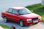 Car specs and fuel consumption for Audi 90 Series (89, 8A)