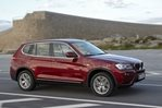 Car specs and fuel consumption for BMW X3 F25