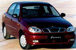 Car specs and fuel consumption for Daewoo Lanos Lanos