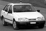 Car specs and fuel consumption for Ford Sierra 2- series, Hatchback