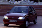 Car specs and fuel consumption for Ford Fiesta 3- series