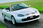 Car specs and fuel consumption for MG TF TF