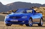 Car specs and fuel consumption for Mercedes SLK (R170)
