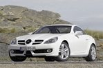 Car specs and fuel consumption for Mercedes SLK (R171)