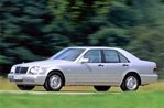 Car specs and fuel consumption for Mercedes S- class (W140)