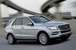 Car specs and fuel consumption for Mercedes ML (W166)