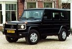 Car specs and fuel consumption for Mercedes G- class (W460)