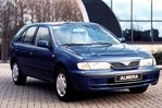 Car specs and fuel consumption for Nissan Almera 1- series