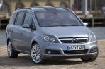 Car specs and fuel consumption for Opel Zafira B