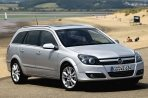Car specs and fuel consumption for Opel Astra H- caravan