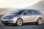 Car specs and fuel consumption for Opel Astra J- caravan