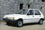 Car specs and fuel consumption for Peugeot 205 1- series