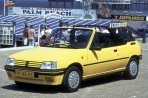 Car specs and fuel consumption for Peugeot 205 cabriolet