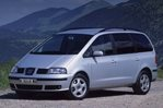 Car specs and fuel consumption for Seat Alhambra 1- series (7M)