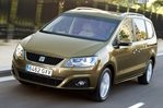 Car specs and fuel consumption for Seat Alhambra 2- series (7N)