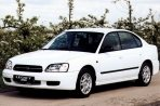 Car specs and fuel consumption for Subaru Legacy 3- series