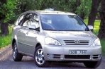 Car specs and fuel consumption for Toyota Avensis 1- series- Verso (mpv)