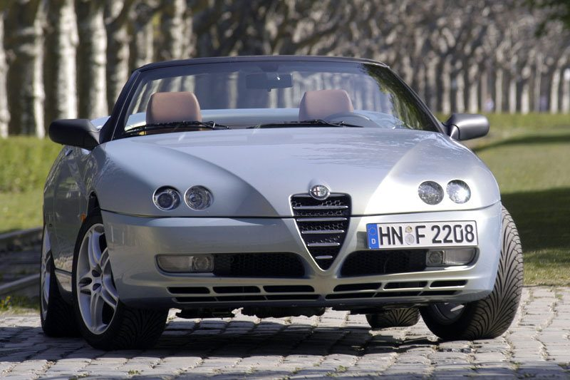 All cars data Alfa Romeo Spider 916