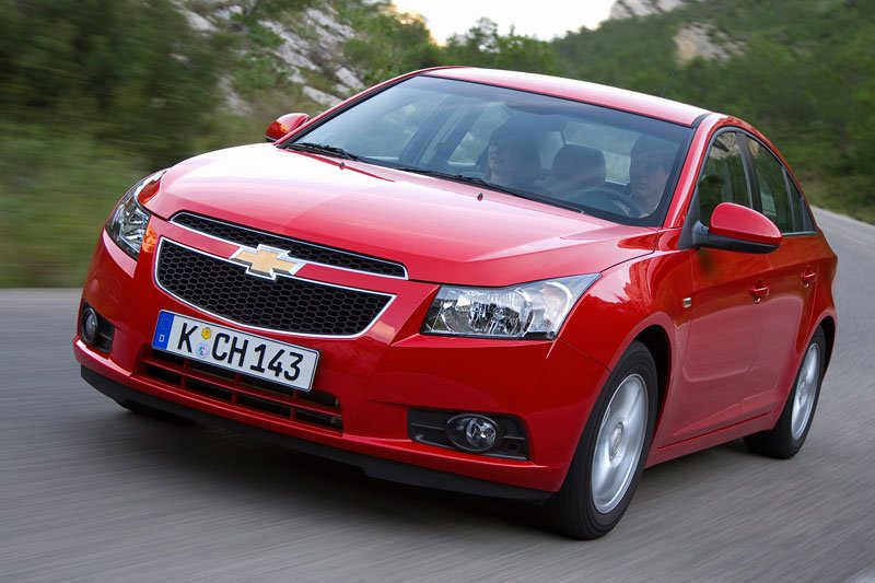 All cars data Chevrolet Cruze Cruze