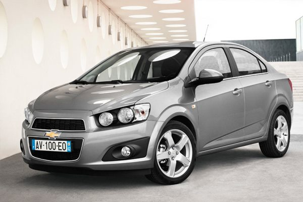 All cars data Chevrolet Aveo T300
