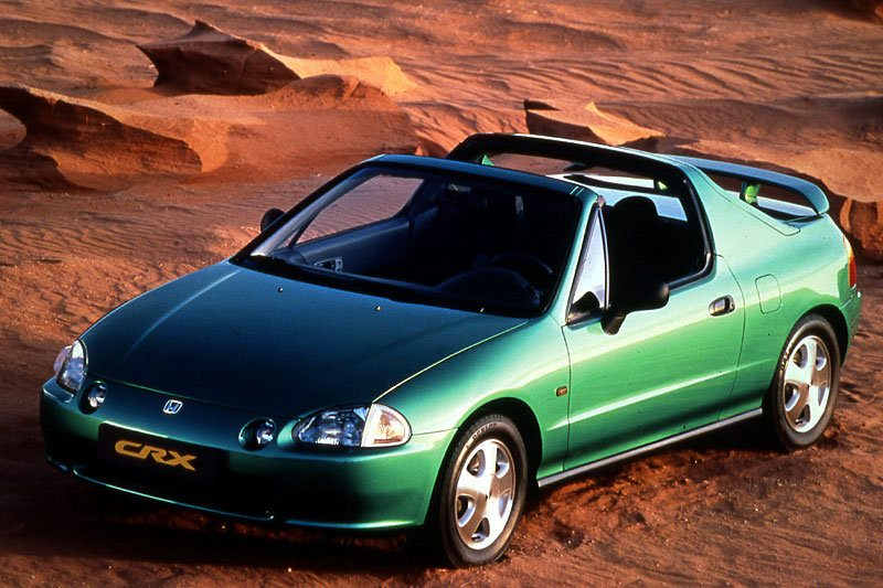 All cars data Honda CRX CRX