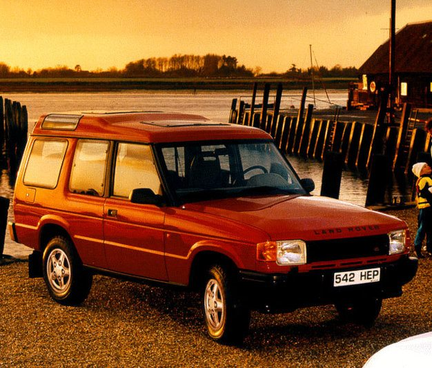 1994 Land Rover Discovery Exterior: Land Rover Discovery 1- Series 300 Tdi Leisure 1994 113 CV
