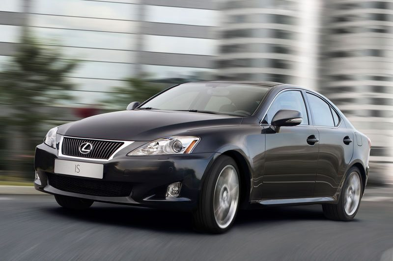 All cars data Lexus IS IS