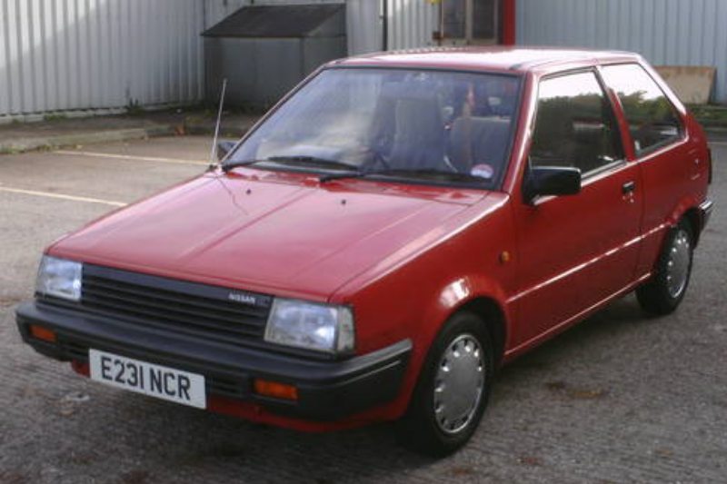 Nissan Micra 1- series (K10) 1 0 DX 1983 50 hp - car specs, fuel