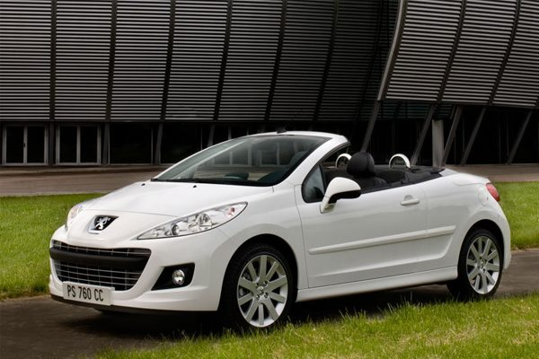 peugeot 207 cabrio cc feline 1 6 16v turbo 2007 150 hp. Black Bedroom Furniture Sets. Home Design Ideas