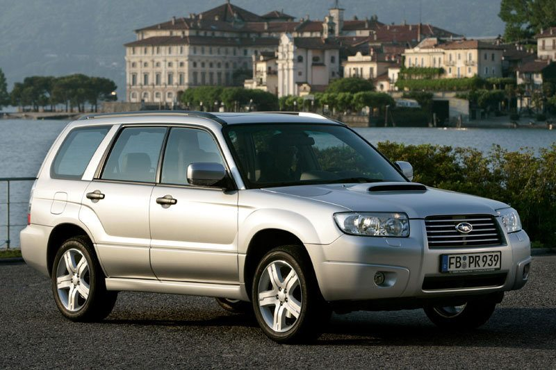 All cars data Subaru Forester 2- series (SG)