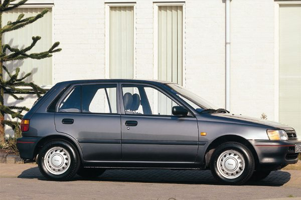 All cars data Toyota Starlet 2- series
