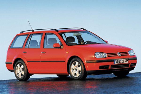 All cars data Volkswagen Golf 4- series, Variant