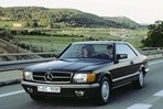 Car specs and fuel consumption for Mercedes C126