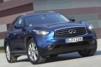 Car specs and fuel consumption for Infiniti QX70