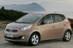 Car specs and fuel consumption for Kia Venga