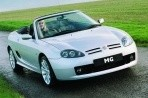 Car specs and fuel consumption for MG TF