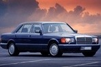 Car specs and fuel consumption for Mercedes W126