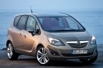 Car specs and fuel consumption for Opel Meriva