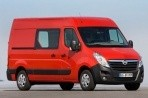 Car specs and fuel consumption for Opel Movano
