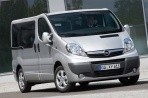 Car specs and fuel consumption for Opel Vivaro