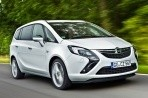 Car specs and fuel consumption for Opel Zafira