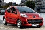Car specs and fuel consumption for Peugeot 107