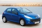 Car specs and fuel consumption for Peugeot 206