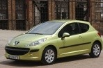 Car specs and fuel consumption for Peugeot 207