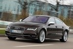 Car specs and fuel consumption for Audi S7