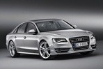 Car specs and fuel consumption for Audi S8
