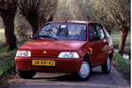 Car specs and fuel consumption for Citroen AX
