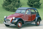Car specs and fuel consumption for Citroen 2CV